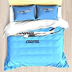 Brushed Microfiber Fabric Twin / Twin XL Size: 1 Twin Duvet Cover: 68 x 88 inch (172x223cm),2 pieces Pillowcases: 20 x 30 inch (51x76cm).(NO FILLING) The invisible side zipper easily allows you to insert and remove your duvet when needed,active print...