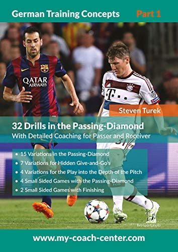 32 Drills in the Passing-Diamond (German Training Concepts 1) (German Edition)