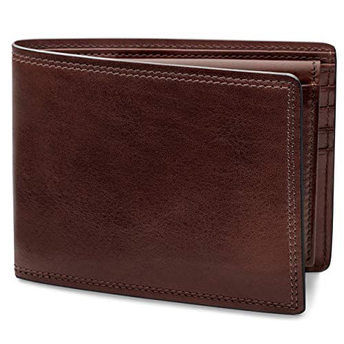 Bosca | Men's Credit Bifold Wallet with I.D. Passcase in Dolce Italian Leather