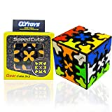 LOVK Magic Cube,Gear Cube,Speed Cube with 360-degree Rotating Three-Dimensional Gear Structure,Suitable for Brain Development Puzzle Games for Children and Adults