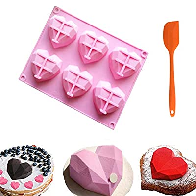 Pack Heart Molds for Chocolate Silicone Chocolate Bomb 15022021112741