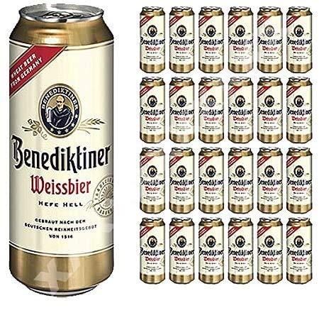 Benediktiner Weißbier 24x 500ml Alc. 5,4% Vol.