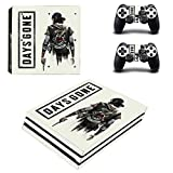 FENGLING Game Days Gone Ps4 PRO Skin Sticker Decal for Playstation 4 Console And Controllers Ps4 PRO Skin Sticker Vinyl