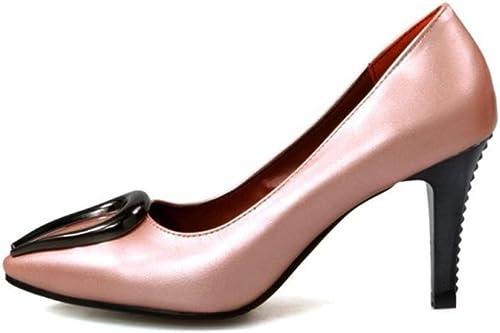 Femmes Pompes Tribunal Chaussures Pointu Doigt de pied Stylet Les Les dames Haute Talon blanc rouge Mariage Fête Robe