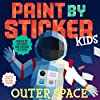Paint by Sticker Kids: Create 10 Pictures One Sticker at a Time! Includes Glow-in-the-dark Stickers