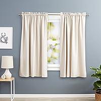 cortinas salon cortas