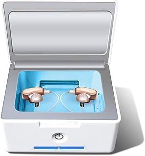 IRIVER BLANK para secado de audífonos automático deshumidificador y coclear electrónica secador UV-C desinfección desinfectante y limpieza