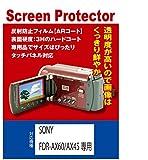SONY FDR-AX60/FDR-AX45専用 液晶保護フィルム(ARコート機能付)