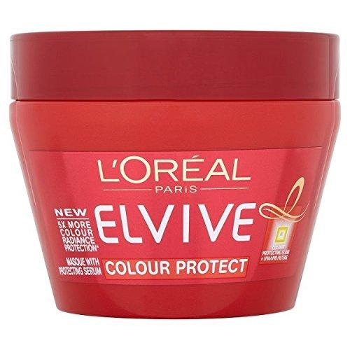 L'Oréal Elvive Couleur Masque de protection UVA/B protégeant Sérum Cheveux Après-Shampooing 300 ml