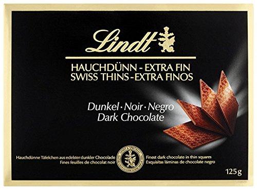 Lindt - Swiss Thins - Dark - 125g