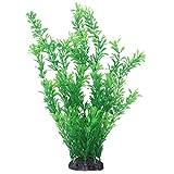Jesnoe Decoracion para Acuario De Plantas Subacuaticas De 40cm De Plastico Verde