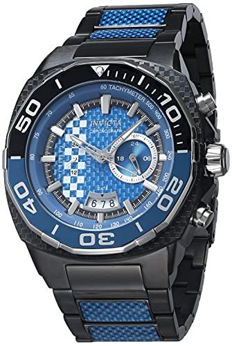 Invicta Speedway reloj de cuarzo para hombre con esfera azul 33197