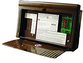 WFCO/ Arterra WF-8712-P RV Trailer Camper Electrical 8700 Series Power Center 30A Brown