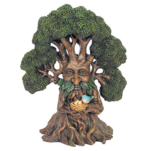 SC Gifts Greenman Tree Ornament Decorative Figurine Garden Green Man New & Boxed 32cm
