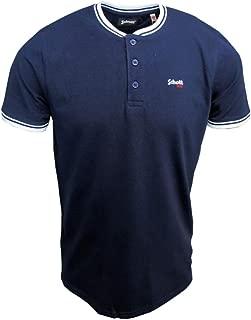 NYC Mens PSBEN Bomber Collar Polo Shirt