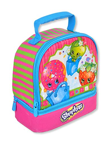 Shopkins Dual Compartment Insulated Lunch Bag