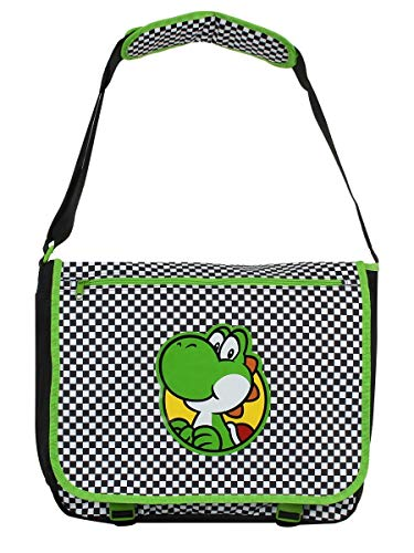 Bioworld Nintendo - Yoshi Checkered - Messenger Bag