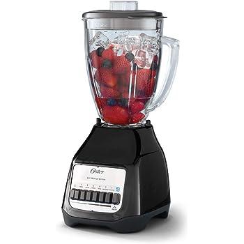 Licuadora Oster® de 6 velocidades vaso vidrio BLSTS0G4661B-013 450W negro