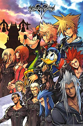 Trends International Kingdom Hearts Group Wall Poster 22.375' X 34'