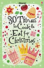 30 Christmas Things to Cook and Eat (Usborne Cookery Cards) (Usborne Cookery Cards)