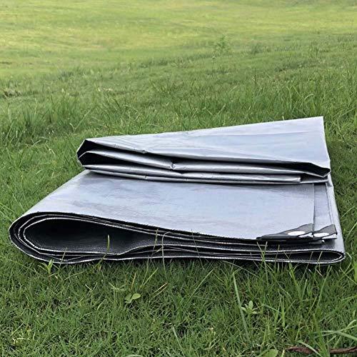 LXXTI waterdicht transparant zeil met ogen, luifels en dekzeilen, duurzaam, transparant, weerbestendig zeil, opvouwbaar, plantendak, regenbescherming, touw inbegrepen. 2 x 3 m.
