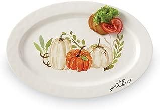 Mud Pie Thanksgiving Gather Pumpkin Patch Platter
