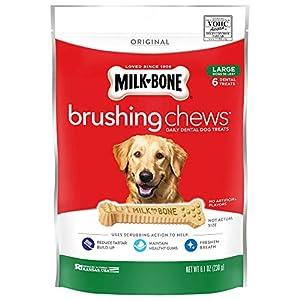 Milk-Bone Original Brushing Chews, 6 Large Daily Dental Dog Treats