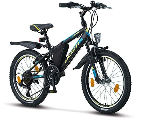 Licorne Bike Guide, VTT 26', 24', 20', Shimano 21 Vitesses, Suspension à Fourche, vélo pour...