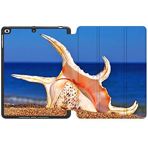 SDH Funda para iPad de 9,7 pulgadas 2018 2017,iPad Air 1 / iPad Air 2 Smart Cover Folio Stand Protector para Apple iPad 5ª 6ª generación (A1822/A1823/A1893/A1954), Beach Scenery 12