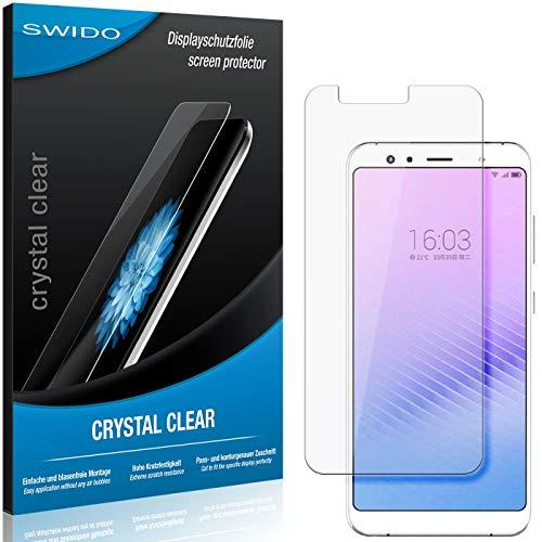 SWIDO Bildschirmschutz für Hisense Infinity H11 Pro [4 Stück] Kristall-Klar, Hoher Festigkeitgrad, Schutz vor Öl, Staub & Kratzer/Folie, Schutzfolie, Bildschirmschutzfolie, Panzerglas Folie