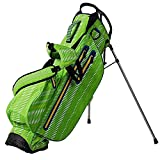 OUUL Python Waterproof Stand Bag 2017, Apple Green/White/Yellow