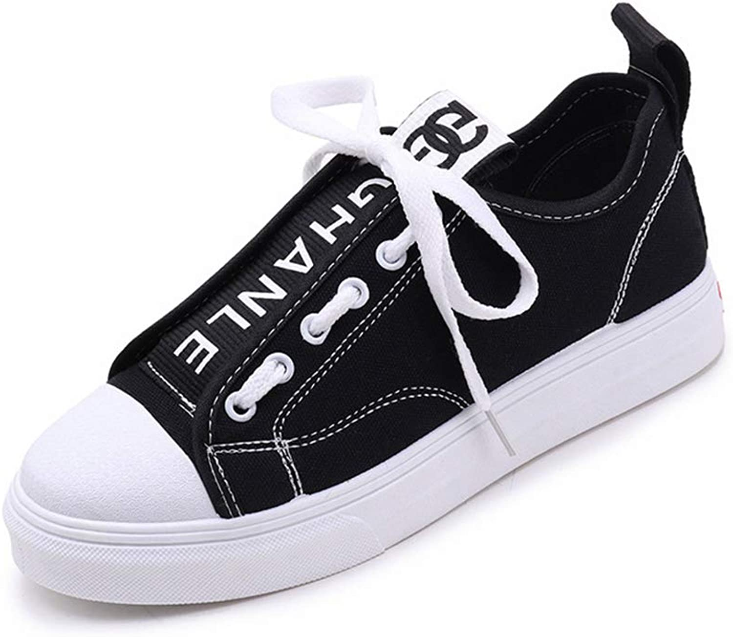 Ladies Canvas shoes Sneakers Casual shoes Lace up Casual Breathble Walking