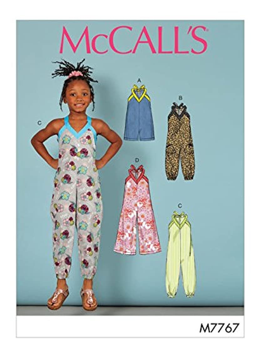 McCall's Patterns M7767 Toddler's/Children's Sewing Pattern Multicolor
