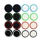 XFUNY 8 Pairs/16 PCS Replacement Silicone Analog Controller Joystick...