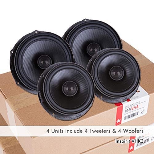 VW OE Upgrade Speaker for Beetle EOS Golf//GTI//R Jetta Rabbit Tiguan Touareg