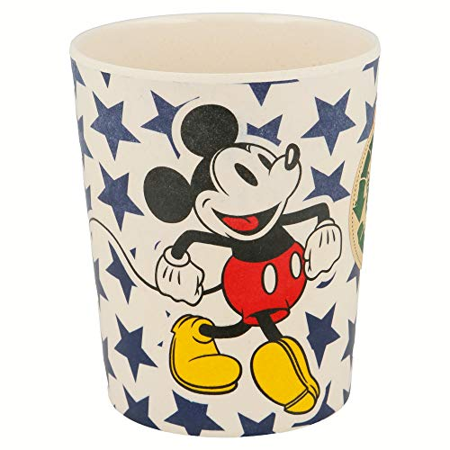 Mickey Mouse 1324 Verre en bambou 270 ml All Star