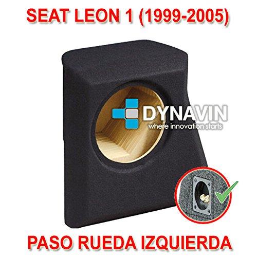 Dynavin Seat Leon 1 (1999-2005). Rueda IZQUIER - Caja ACUSTICA ...