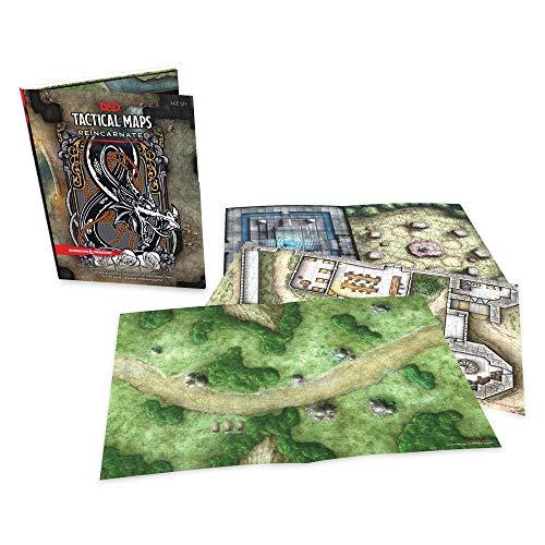 Mazmorras y Dragones mapas tácticos reencarnados