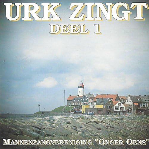 """Mannenkoor """"Onger Oens"""", T.W. van Eerde & Jan Overbeek"""