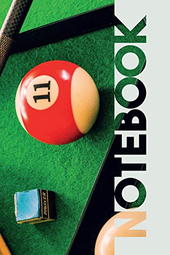 Notebook: Pool Table Chic Composition Book for Billiard Balls Fans