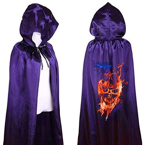 Alikeey Hemd wit dames mantel winter grote grootte vrouwen Halloween festival print schedel horreur kostuum skelet party club