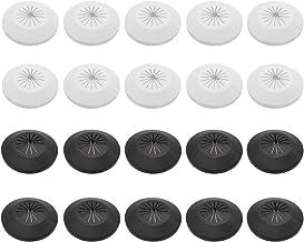 Baven 20 Pcs Roseta de Cubierta de Radiador, Collar de Plástico para 15-29 mm, Tuberías de Agua, Tuberías de Gas, Tuberías...