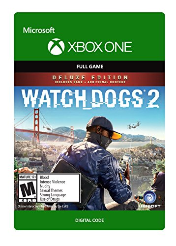 Watch Dogs 2 Deluxe Edition - Xbox One Digital Code