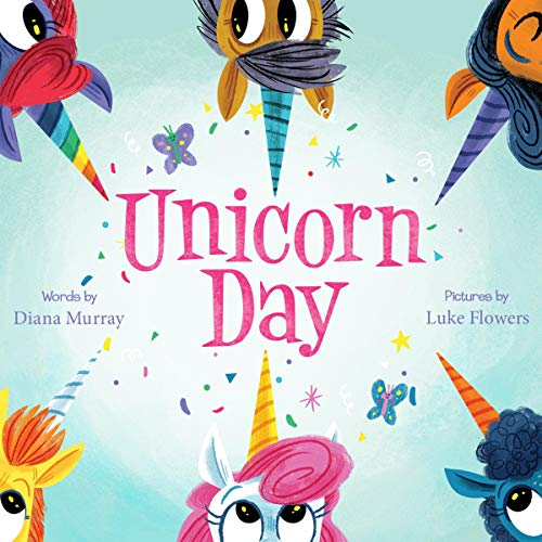 Unicorn Day audiobook cover art