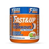 Fast&Up Pre Workout Supplement - Beta Alanine + Caffeine + Creatine + Taurine + AAKG - Sports and...