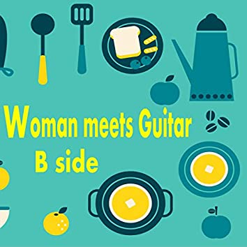 Woman Meets Guitar Side B Famous Pops Playedby Acoustic Guitar