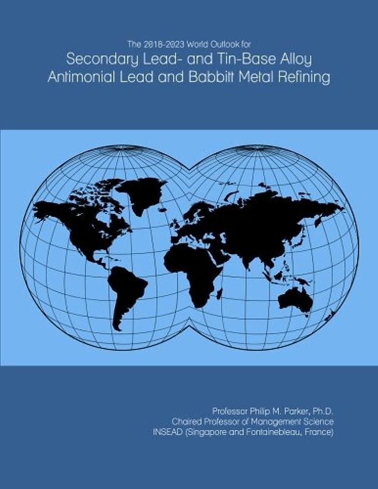 ポイント所有者復活The 2018-2023 World Outlook for Secondary Lead- and Tin-Base Alloy Antimonial Lead and Babbitt Metal Refining