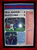 Lilywhite Multimedia Real Madrid 2 Barcelona 3-2017 La Liga - Impresión enmarcada