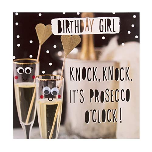 Birthday Girl Card from Hallmark - Photographic Humour Design