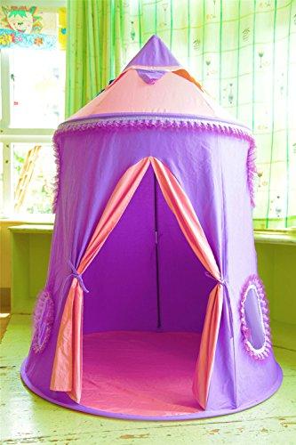 HONEYY Lila Kinder Zelte Spiele für Kinder-zu-Gehäuse innen Mongolei Paket/Prinzessin Spielzeug Haus,